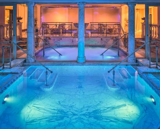 Rome Cavalieri, A Waldorf Astoria Resort, Italien – Fitness und Swimmingpool