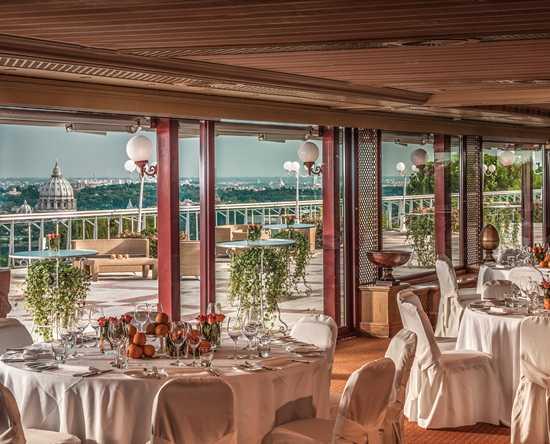 Luxus-Hochzeiten in Rom – Rome Cavalieri, A Waldorf Astoria Resort