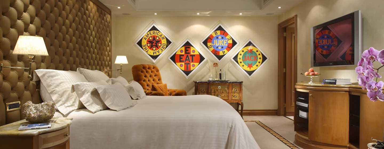 Rome Cavalieri, Waldorf Astoria Hotels& Resorts, Italien– Planetarium Suite