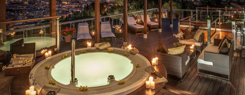 Rome Cavalieri, Waldorf Astoria Hotels& Resorts, Italien– Planetarium Suite– Dachterrasse