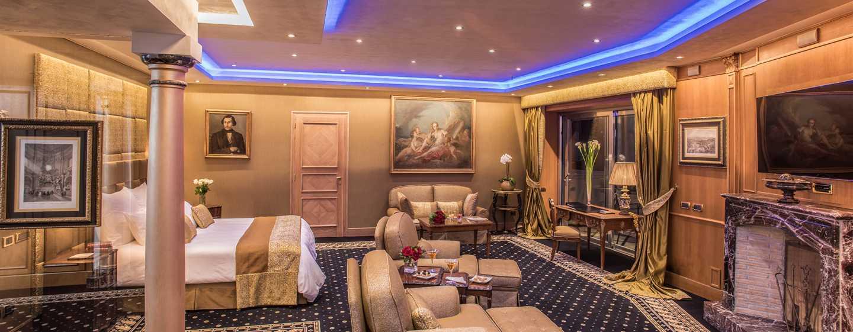 Rome Cavalieri, Waldorf Astoria Hotels& Resorts, Italien– Vista Suite– Eingang