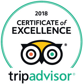 "La Bagnaia Golf & Spa Resort Siena, Curio Collection by Hilton, Italien – 2018 von TripAdvisor mit dem ""Certificate of Excellence"" ausgezeichnet"