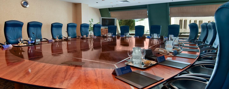 Die eleganten Meetingräume sind flexibel einsetzbar