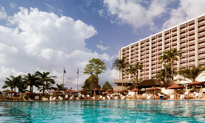 Transcorp Hilton Abuja Hotel - Exterior with pool