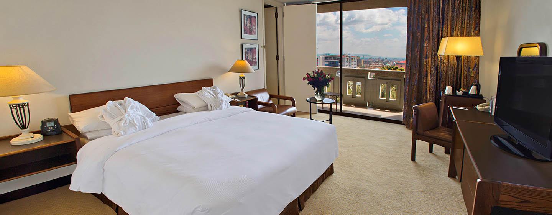 Hilton Addis Ababa, Äthiopien– Eck-Suite mit King-Size-Bett