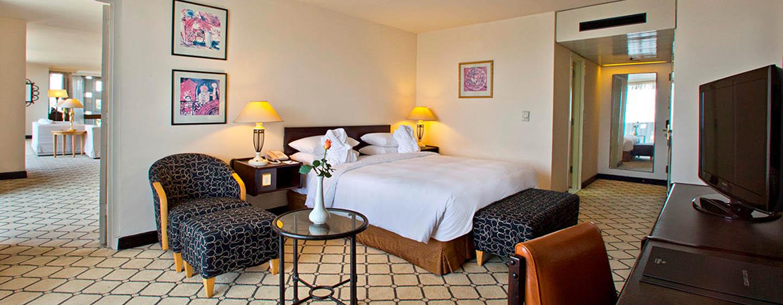 Hilton Addis Ababa, Äthiopien– Deluxe Suite mit King-Size-Bett
