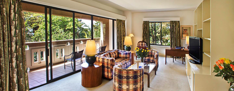 Hilton Addis Ababa, Äthiopien– Großes Apartment mit einem Schlafzimmer