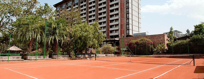 Hilton Addis Ababa, Äthiopien – Tennisplätze