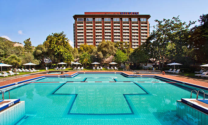 Hilton Addis Ababa, Äthiopien– Außenpool