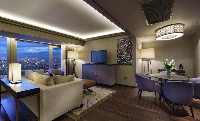 Wohnzimmer der Suite