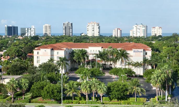 Hilton Naples - Außenansicht
