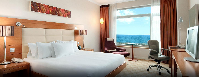 Hilton Executive Zimmer mit King-Size-Bett