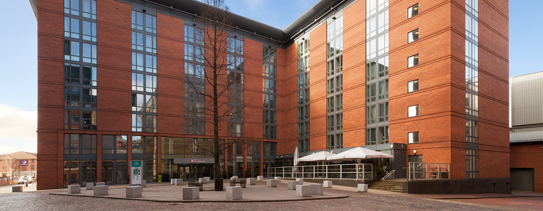 Herzlich willkommen im Hilton Garden Inn Birmingham Brindleyplace Hotel