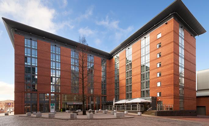 Hilton Garden Inn Birmingham Brindleyplace, UK - Hotel exterior