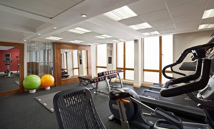 Hilton Garden Inn Birmingham Brindleyplace, UK - Gym