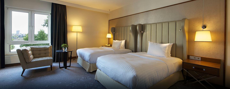 Hilton Deluxe Zimmer mit zwei Einzelbetten