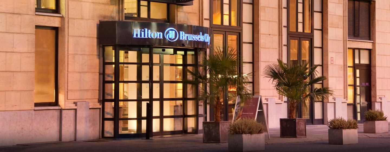 Herzlich willkommen im Zentrum von Brüssel im Hilton Brussels City