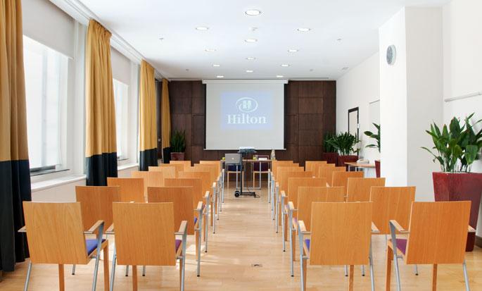 Hilton Brussels City, Belgium - Meeting Room