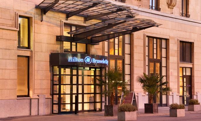 Hilton Brussels City, Belgium - Hotel Exterior
