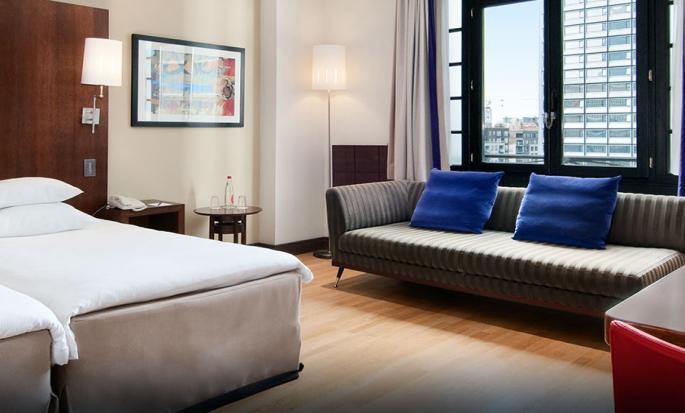 Hilton Brussels City, Belgium - Double Room