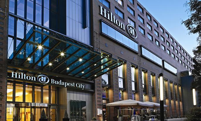 Hilton Budapest City Hotel, Ungarn– Außenbereich des Hotels