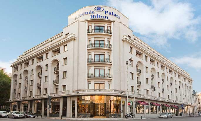 Athenee Palace Hilton Bucharest Hotel, Rumänien– Außenbereich des Hotels