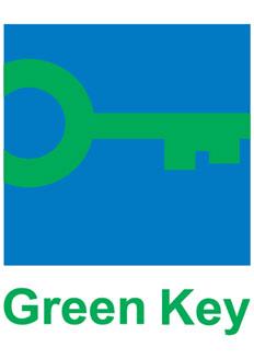 Mit dem Grünen Schlüssel (Green Key) ausgezeichnetes Hotel
