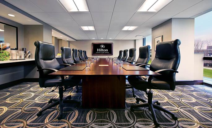 Hilton chicago o 39 hare airport hotels in chicago for Chicago airport hotels