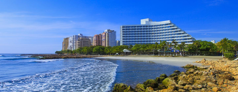 Hilton Cartagena Hotel, Kolumbien – Außenbereich des Hotels