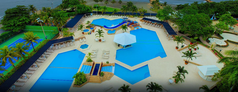 Hilton Cartagena Hotel, Kolumbien – Poolbereich