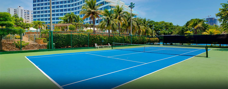 Hilton Cartagena Hotel, Cartagena – Tennisplätze