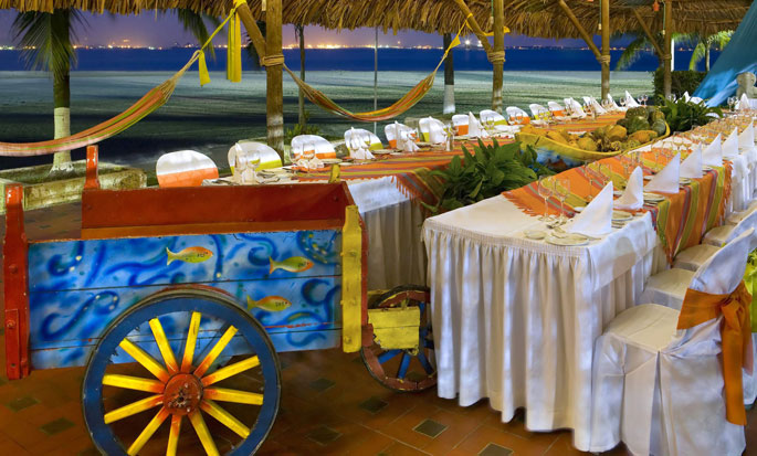Hilton Cartagena Hotel, Kolumbien – Events am Meer