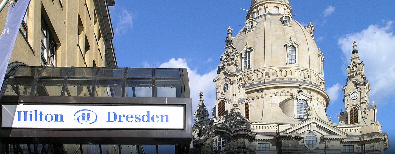 Außenansicht Hilton Dresden