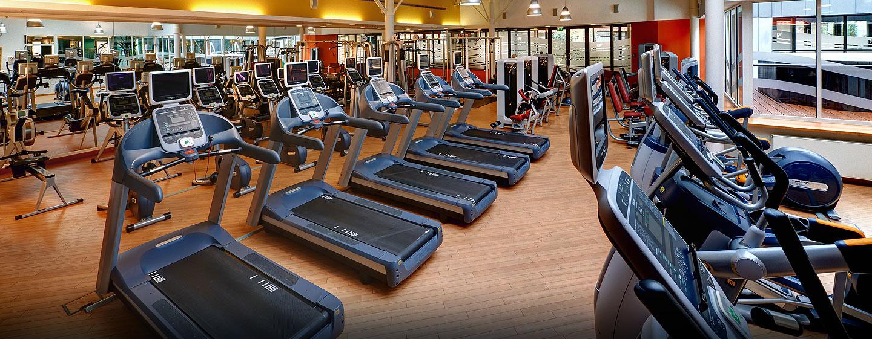 Im LivingWell Health Club können Sie im Fitness Center trainieren