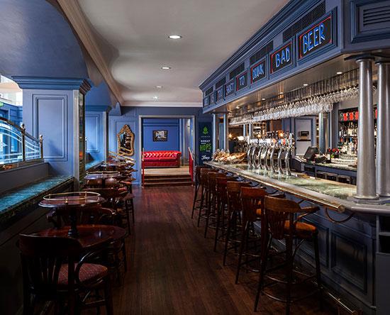 Conrad Dublin hotel, Irland - Alfie Byrne's by Galway Bay Brewery