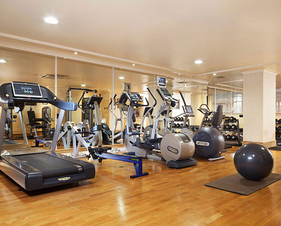 Conrad Dublin hotel, Irland - Fitness Center