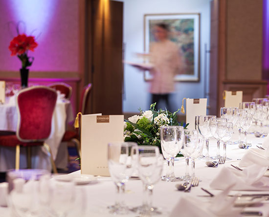 Conrad Dublin hotel, Irland - Planen Sie Ihre Hochzeit