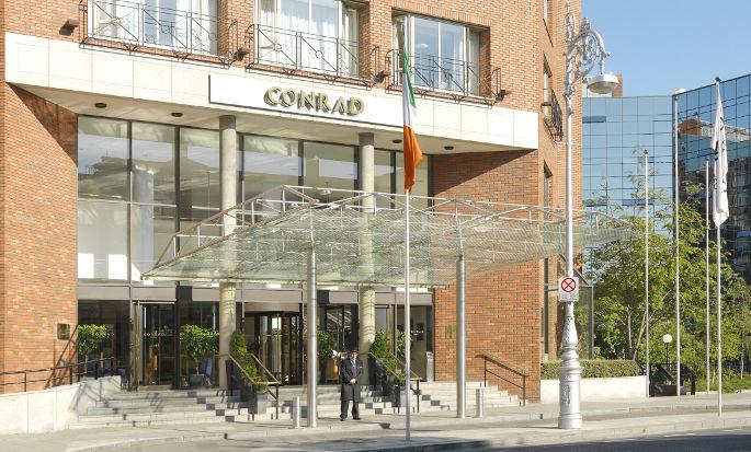 Conrad Dublin hotel, Irland - Aussenansicht
