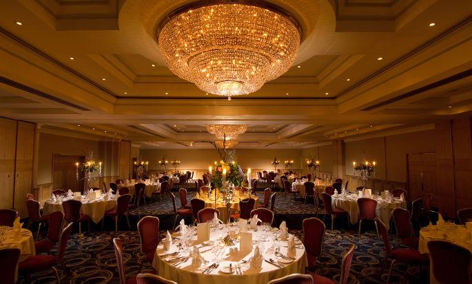 Conrad Dublin hotel, Irland - Ballsaal
