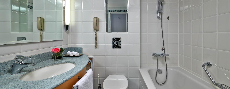 Hilton Düsseldorf, Deutschland – Badezimmer