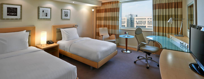 Bei Reisen zu zweit ist das bequeme Zweibettzimmer das richtige für Sie