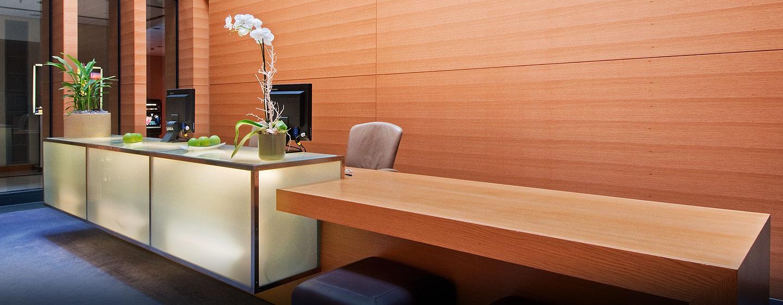 Im modernen Business Center können Sie ungestört Ihrer Arbeit nachgehen