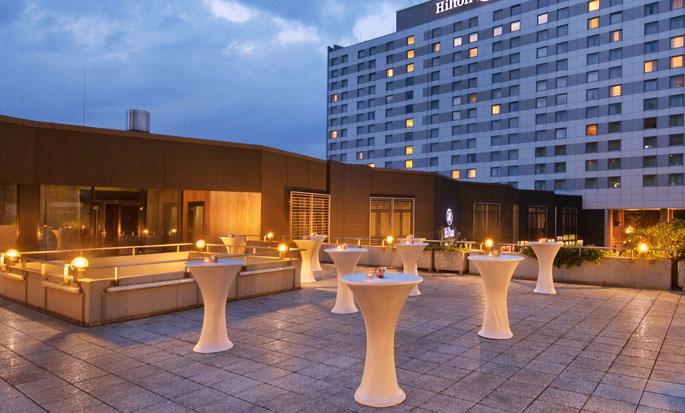 Hilton Düsseldorf, Deutschland – Terrasse