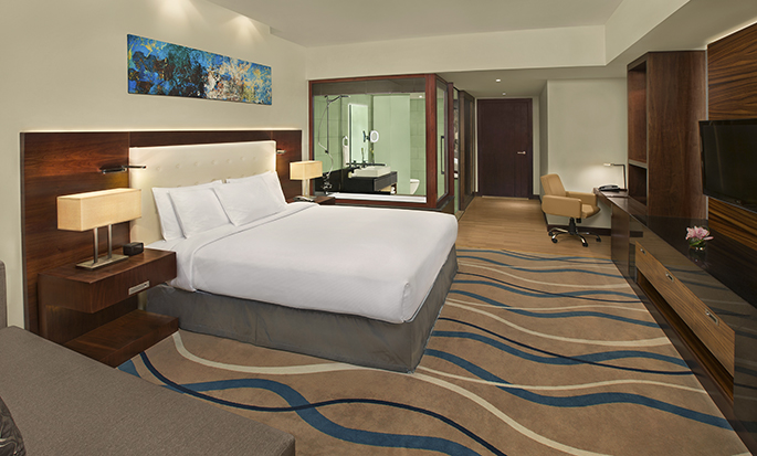 DoubleTree by Hilton Hotel and Residences Dubai - Al Barsha - Guest Room