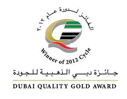 Dubai Quality Award– Gold