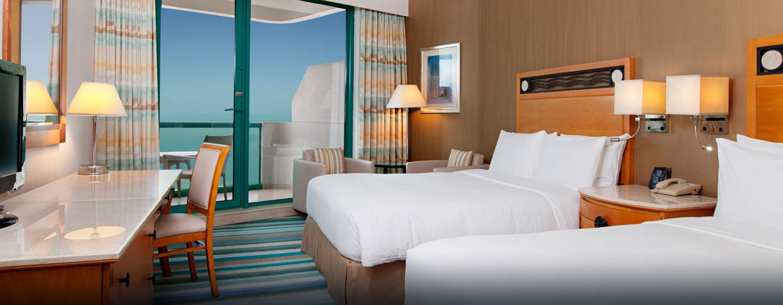Hilton Deluxe Suite mit zwei Einzelbetten