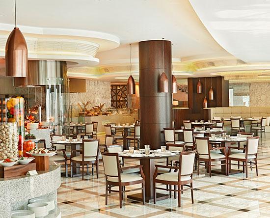 Waldorf Astoria Dubai Palm Jumeirah, VAE – Mezzerie