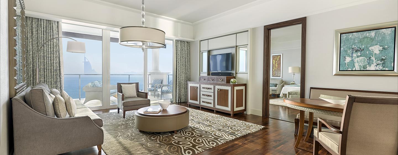 Die Großzügigkeit unserer Deluxe Suiten mit Wohnzimmer wird Sie überzeugen