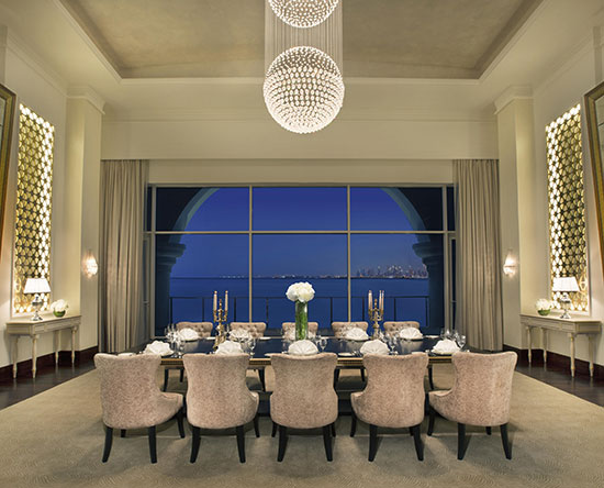 Waldorf Astoria Dubai Palm Jumeirah, VAE – Kleine Meetings
