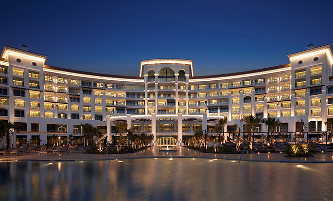 Waldorf Astoria Dubai Palm Jumeirah, VAE – Außenbereich des Hotels